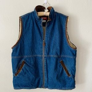 Men's Vintage Wrangler Denim Vest